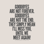 We Will Miss You Quotes