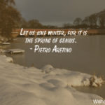 Winter Love Quotes Facebook