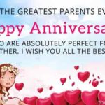 Wishes For Anniversary To Parents Twitter