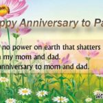 Wishes For Mom Dad Anniversary Tumblr