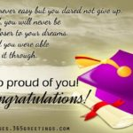 Wishes To High School Graduate
