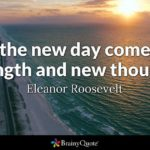 With A New Day Comes New Strength Pinterest