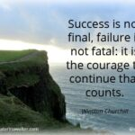 Without Failure There Is No Success