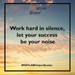Work Hard Silence Quote Twitter