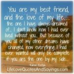 You Are My Best Friend My Love Quotes Facebook