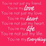 You Are My Everything Quotes For Her Pinterest