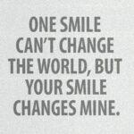 Your Smile Quotes Romantic