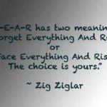 Zig Ziglar Fear Facebook